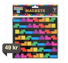 tetrismagneter - billigt julklappstips
